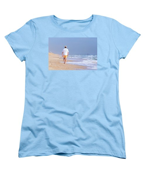 Solitude Women's T-Shirt (Standard Cut) by Keith Armstrong