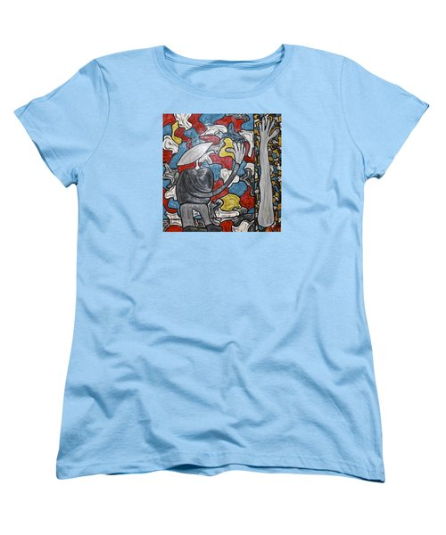 Sometimes I Feel I'm Loosing Part Of Myself Women's T-Shirt (Standard Cut) by Mario Perron