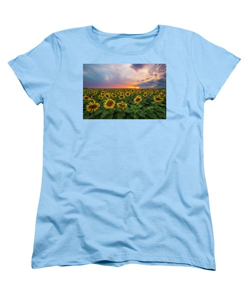 Somewhere Sunny  Women's T-Shirt (Standard Cut) by Aaron J Groen