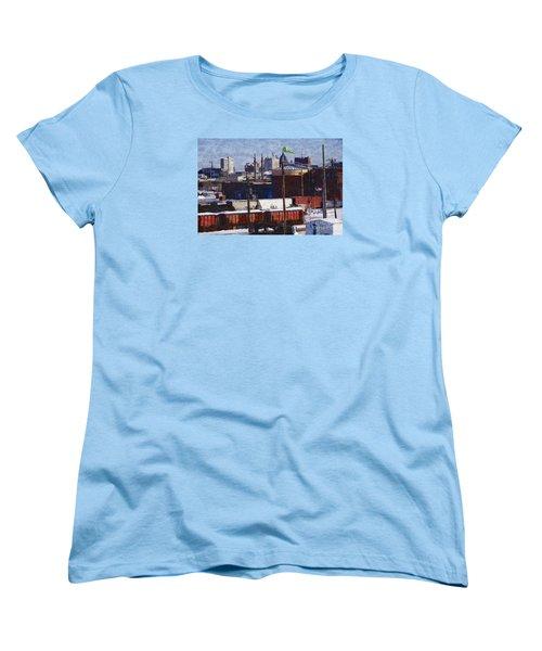Soo Line Women's T-Shirt (Standard Cut) by David Blank