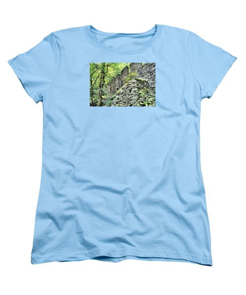 Sope Creek Mill Women's T-Shirt (Standard Cut) by James Potts