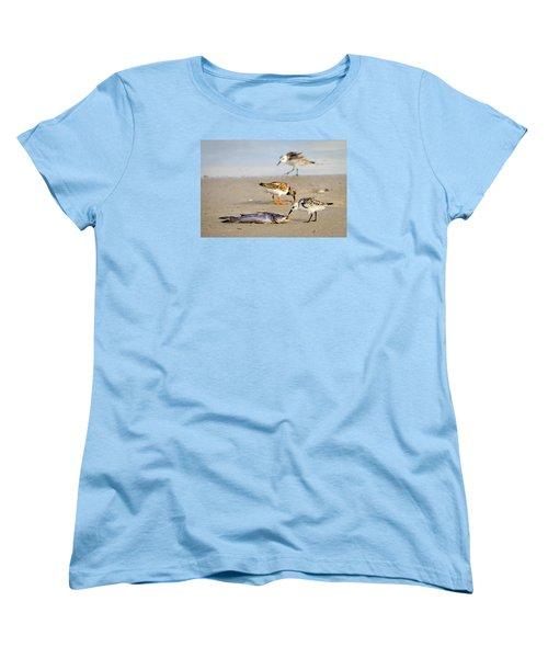 Sorry Buddy Women's T-Shirt (Standard Cut) by Debra Martz