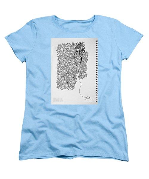 Soundless Whisper Women's T-Shirt (Standard Cut) by Fei A
