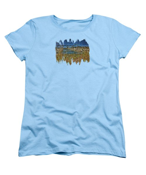 South Beach Marina Women's T-Shirt (Standard Cut) by Thom Zehrfeld