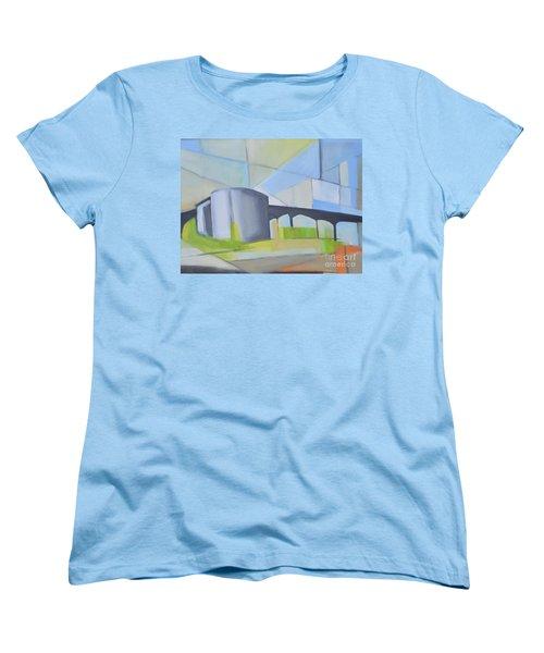 South Hackensack Tanks Women's T-Shirt (Standard Cut) by Ron Erickson