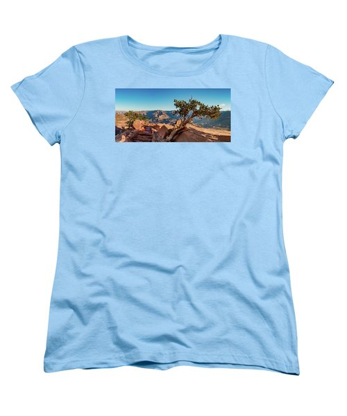 Women's T-Shirt (Standard Cut) featuring the photograph South Kaibab Grand Canyon by Phil Abrams