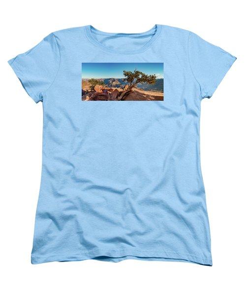 South Kaibab Grand Canyon Women's T-Shirt (Standard Cut) by Phil Abrams