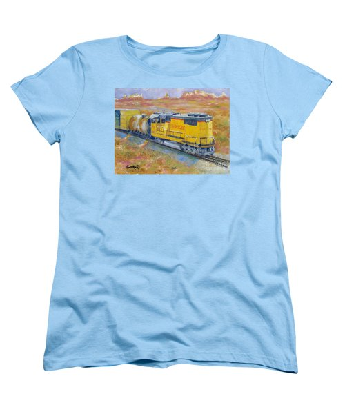 South West Union Pacific Women's T-Shirt (Standard Cut) by William Reed