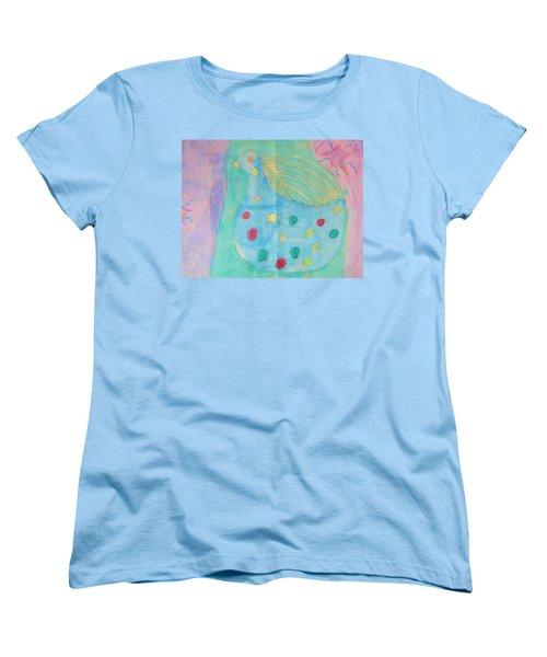 Southwestern Chicken Women's T-Shirt (Standard Cut) by Barbara Yearty