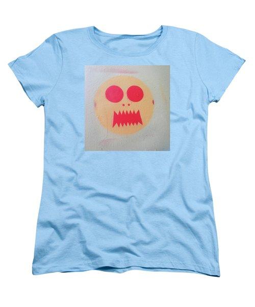 Women's T-Shirt (Standard Cut) featuring the photograph Space Alien by Art Block Collections