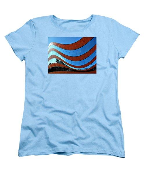 Space Geometry #8 Women's T-Shirt (Standard Cut) by Alex Galkin