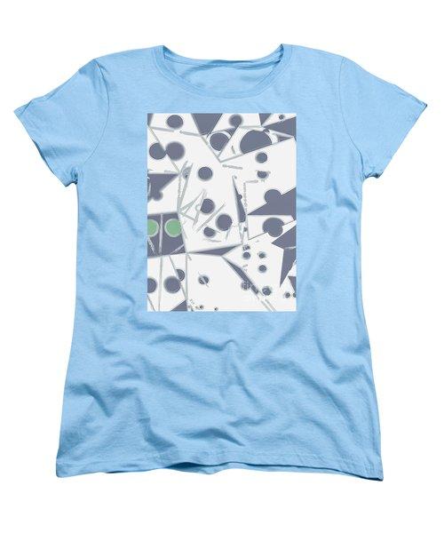 Space Warp  Women's T-Shirt (Standard Cut) by Moustafa Al Hatter