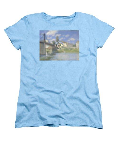 Sphere 18 Sisley Women's T-Shirt (Standard Cut) by David Bridburg