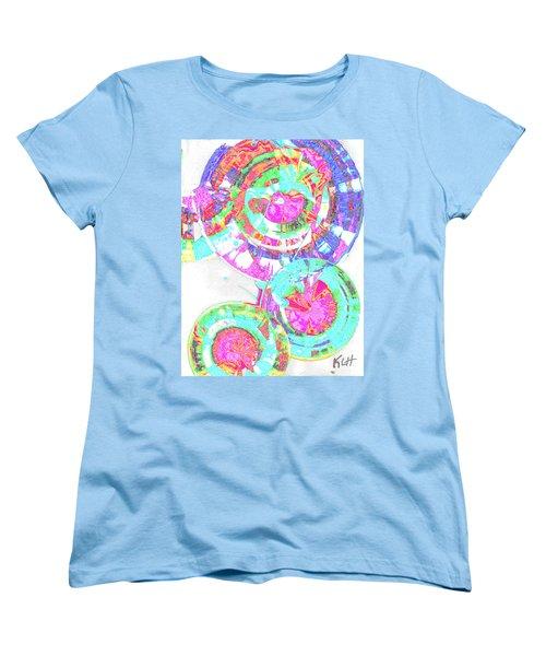 Sphere Series 965.030812vsscinvx3fddfx3 Women's T-Shirt (Standard Cut) by Kris Haas