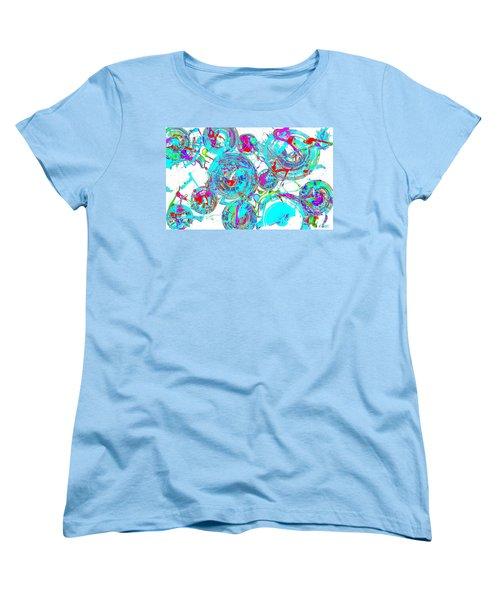 Spheres Series 1511.021413invfddfs-sc-2 Women's T-Shirt (Standard Cut) by Kris Haas