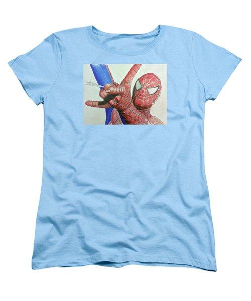 Spiderman Women's T-Shirt (Standard Cut)