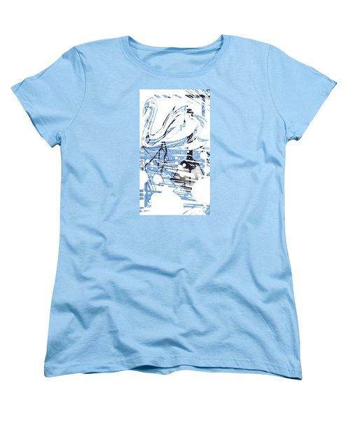 Spirit Animal . Swan Women's T-Shirt (Standard Cut) by John Jr Gholson