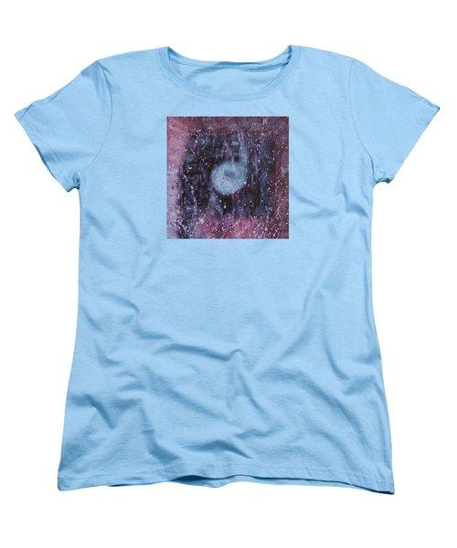 Women's T-Shirt (Standard Cut) featuring the painting Spiritual Destination by Min Zou