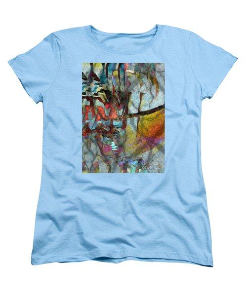 Spirit Quest Women's T-Shirt (Standard Cut) by Kathie Chicoine