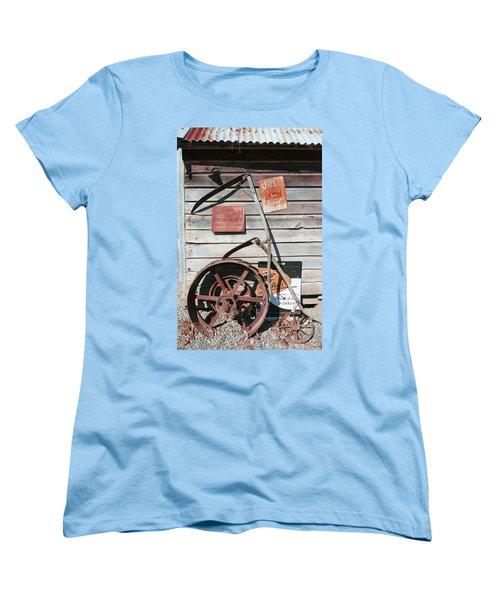 Spitting Prohibited Women's T-Shirt (Standard Cut) by Ivana Westin