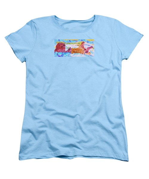 Splish Splash Women's T-Shirt (Standard Cut) by David Millenheft