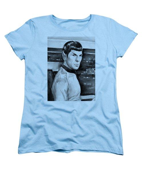 Spock Women's T-Shirt (Standard Cut) by Olga Shvartsur