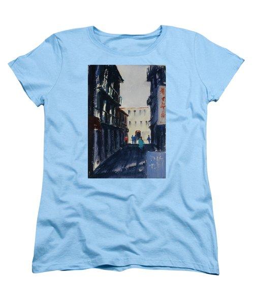Spofford Street4 Women's T-Shirt (Standard Cut) by Tom Simmons