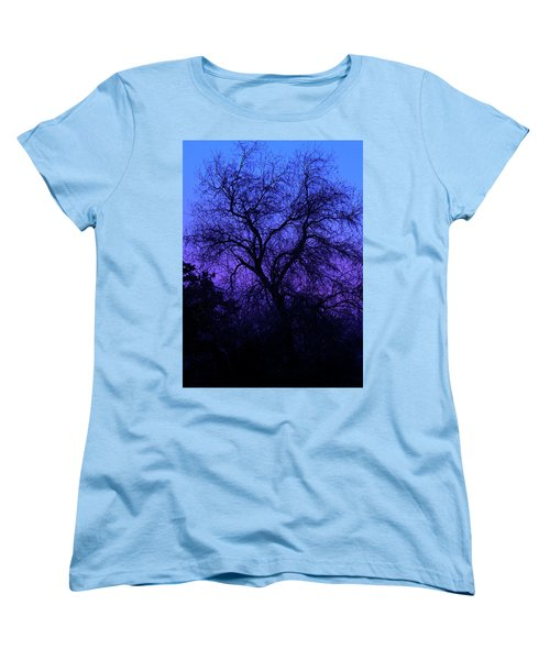 Spooky Tree Women's T-Shirt (Standard Cut) by Paul Marto