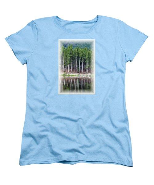 Sprague Lake 03 Women's T-Shirt (Standard Cut) by Pamela Critchlow