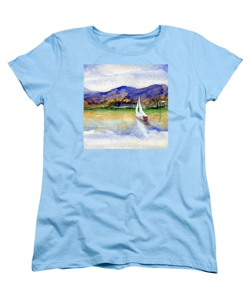 Spring At Our Island Women's T-Shirt (Standard Cut) by Randy Sprout