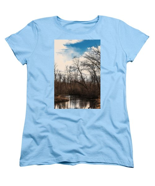 Women's T-Shirt (Standard Cut) featuring the photograph Spring Day by Edward Peterson