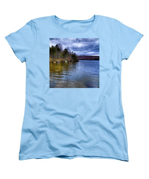 Spring Day On Limekiln Women's T-Shirt (Standard Cut) by David Patterson