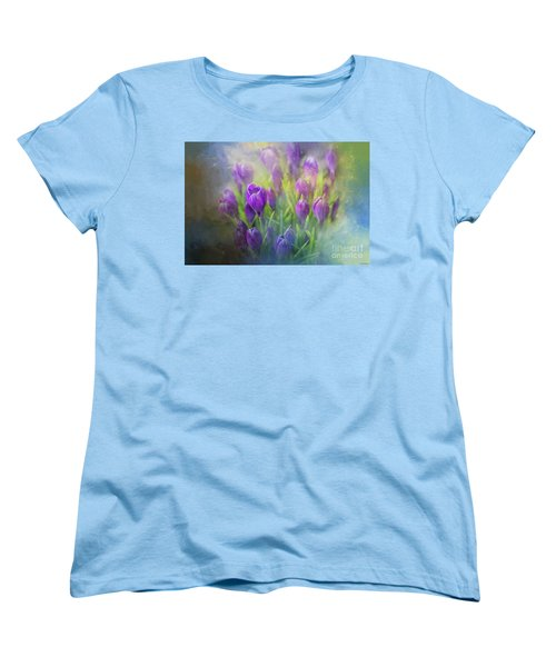 Spring Delight Women's T-Shirt (Standard Cut) by Eva Lechner