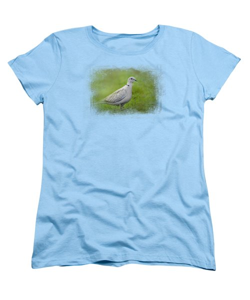 Spring Dove Women's T-Shirt (Standard Cut) by Jai Johnson