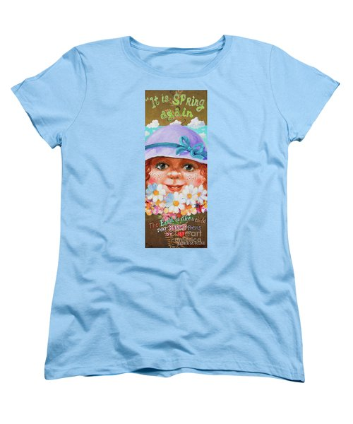 Women's T-Shirt (Standard Cut) featuring the painting Spring by Igor Postash