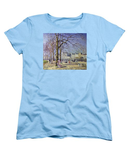 Spring In Hyde Park Women's T-Shirt (Standard Cut) by Alice Taite Fanner