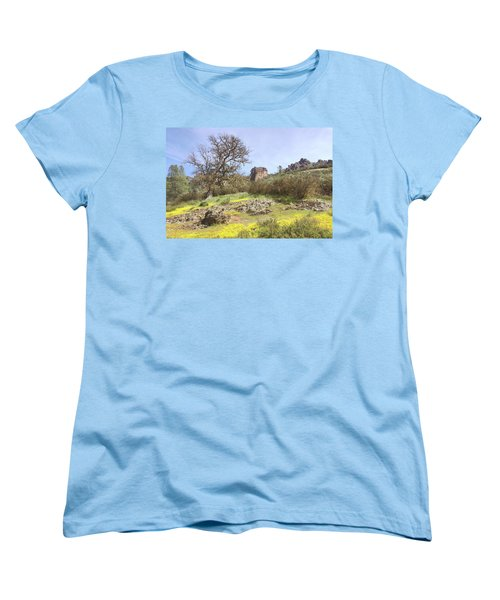 Women's T-Shirt (Standard Cut) featuring the photograph Spring In Pinnacles National Park by Art Block Collections