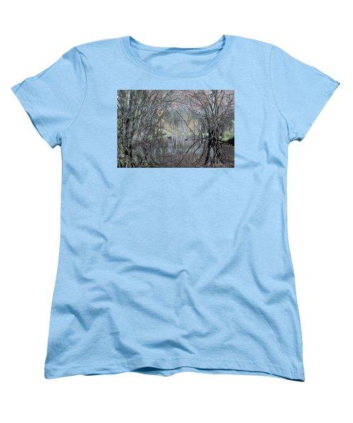 Spring On The Backwater Women's T-Shirt (Standard Cut) by John Selmer Sr