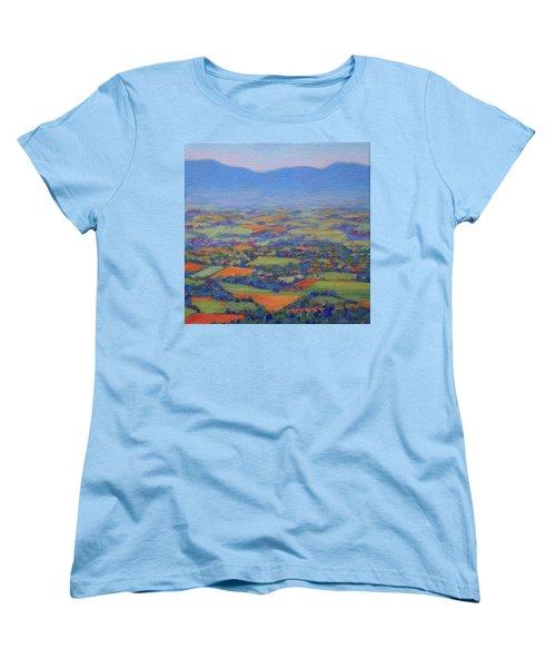 Spring Patchwork 2 Women's T-Shirt (Standard Cut) by Bonnie Mason
