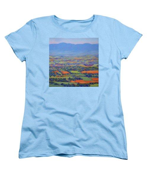 Spring Patchwork 3 Women's T-Shirt (Standard Cut) by Bonnie Mason