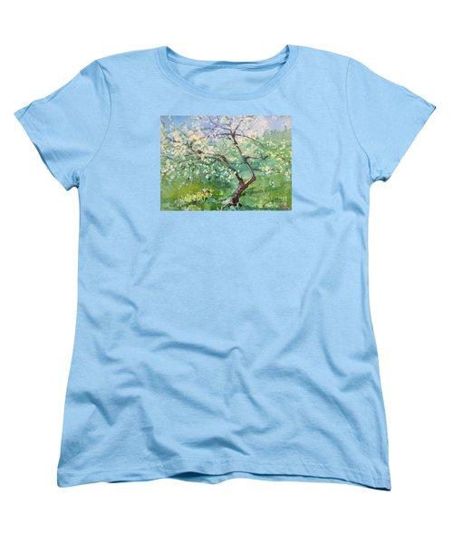Spring Plum Women's T-Shirt (Standard Cut)