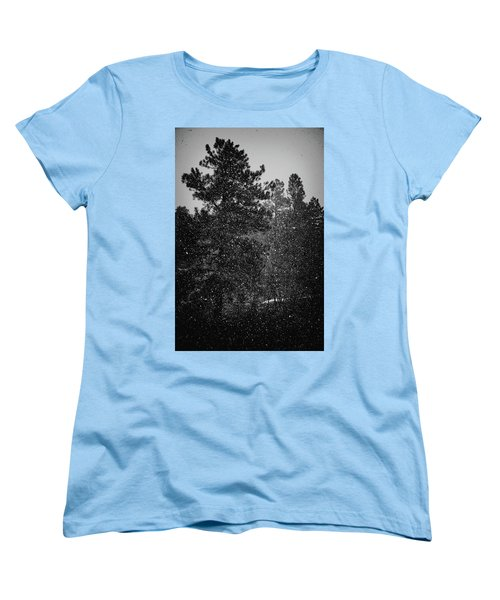 Spring Snowstorm Women's T-Shirt (Standard Cut) by Jason Coward