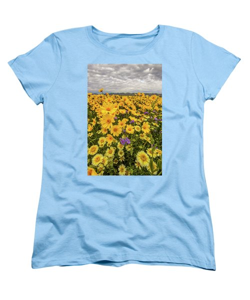 Women's T-Shirt (Standard Cut) featuring the photograph Spring Super Bloom by Peter Tellone