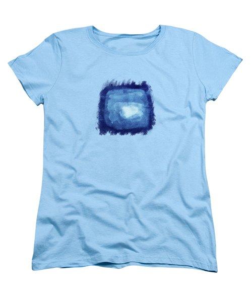Squaring The Moon Women's T-Shirt (Standard Cut) by AugenWerk Susann Serfezi