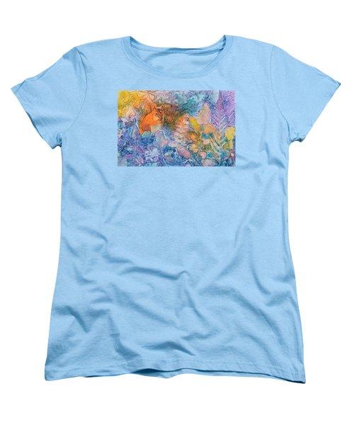 Squirrel Hollow Women's T-Shirt (Standard Cut) by Nancy Jolley