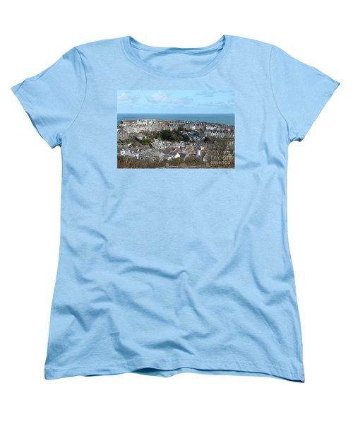 Women's T-Shirt (Standard Cut) featuring the photograph St Ives, Cornwall, Uk by Nicholas Burningham
