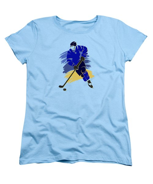 St Louis Blues Player Shirt Women's T-Shirt (Standard Cut) by Joe Hamilton