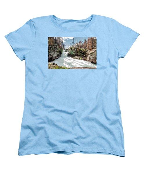 St. Mary Falls Women's T-Shirt (Standard Cut)