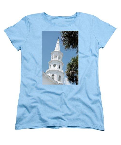 St. Michael's Women's T-Shirt (Standard Cut) by Ed Waldrop