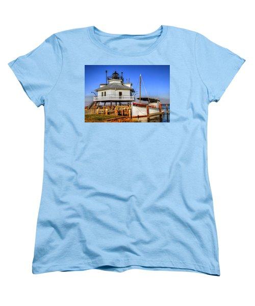 St Michaels Lighthouse Women's T-Shirt (Standard Cut) by Dave Mills